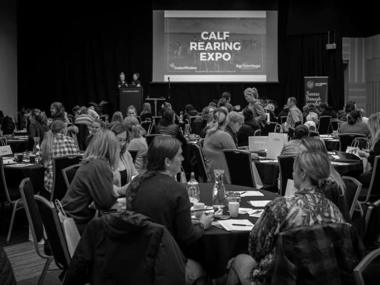 Members attending the 2021 Calf Rearing Expo in Hamilton