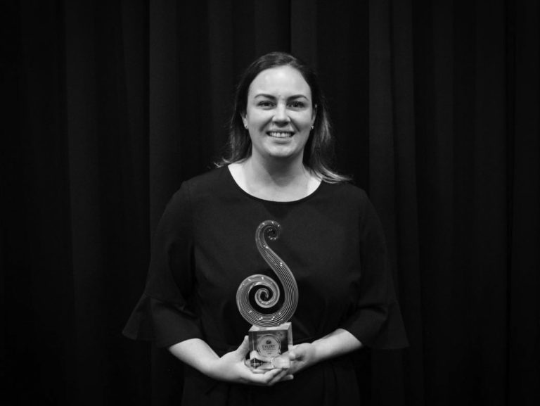 Ash-Leigh Campbell, 2020 Fonterra Dairy Woman of the Year Recipient