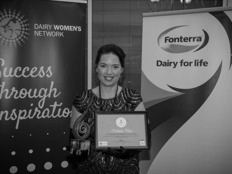 Belinda Price, 2021 Fonterra Dairy Woman of the Year Recipient