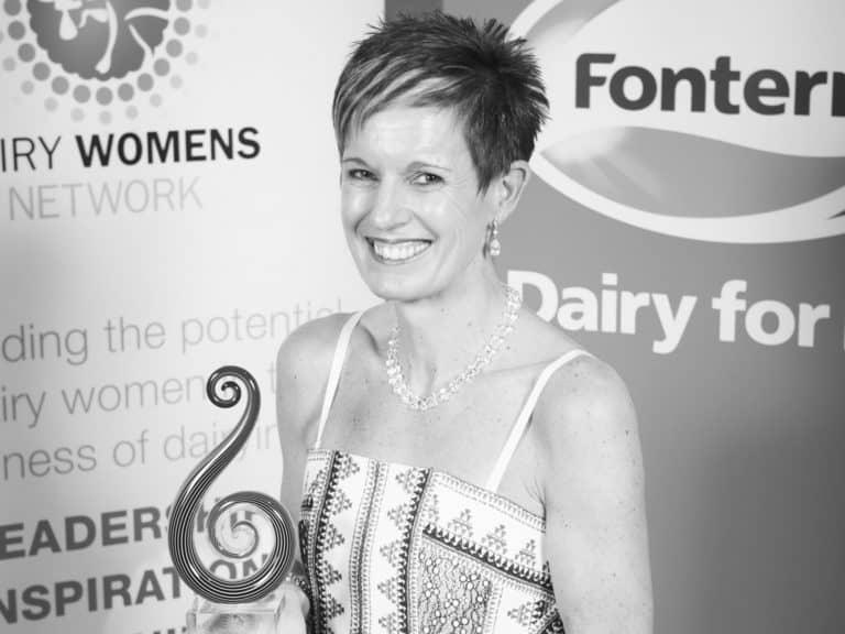 Charmaine O'Shea, 2014 Fonterra Dairy Woman of the Year Recipient