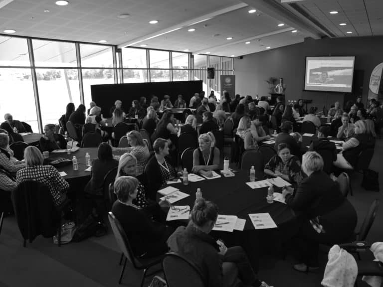 Members attending a workshop at the 2015 Conference in Invercargill