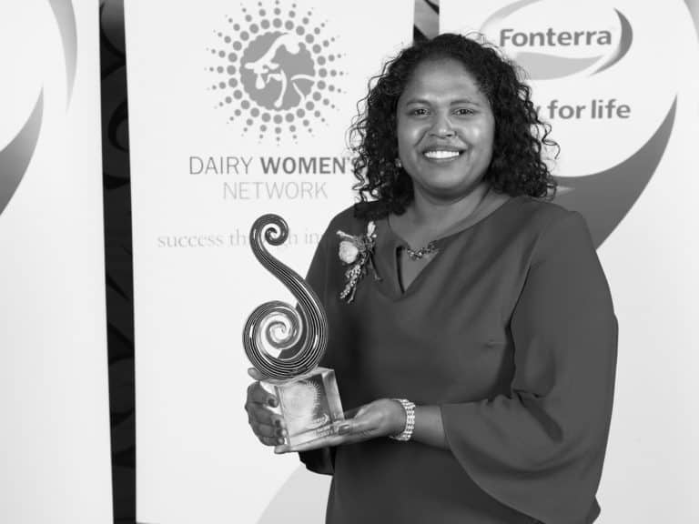 Loshni Manikam, 2018 Fonterra Dairy Woman of the Year Recipient