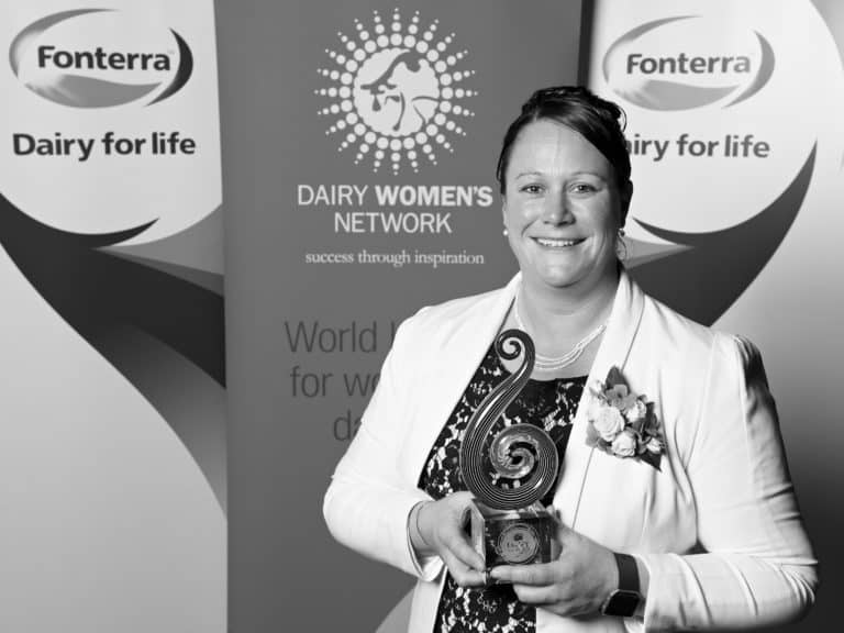 Rebecca Keoghan, 2016 Fonterra Dairy Woman of the Year Recipient