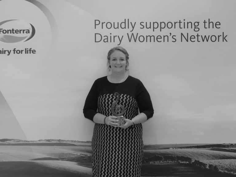 Trish Rankin, 2019 Fonterra Dairy Woman of the Year Recipient